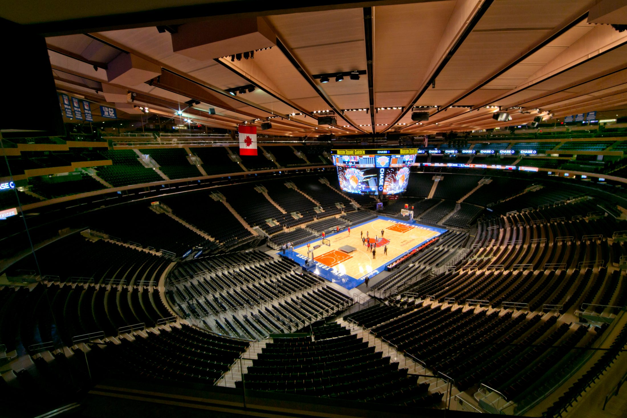Madison Square Garden Ominy