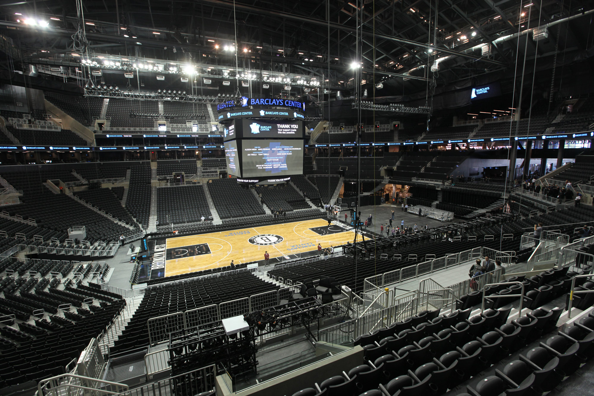 Barclays Center Structure Ominy